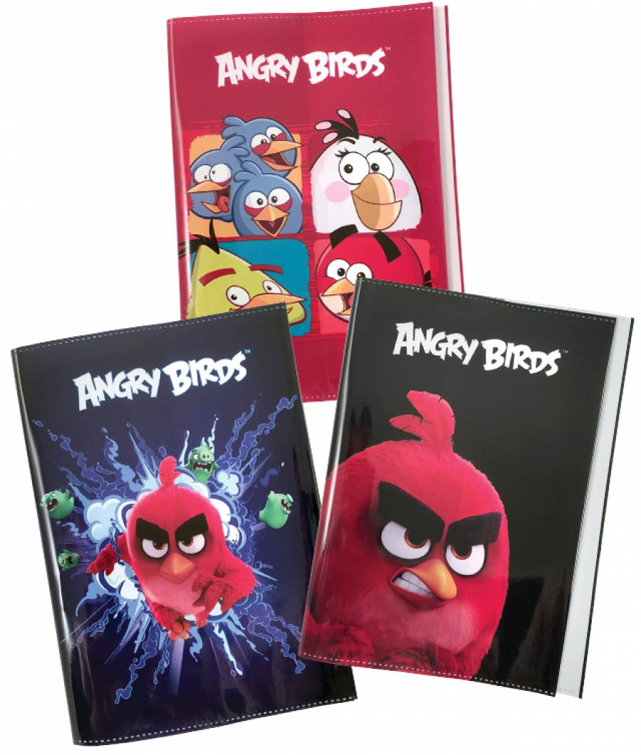 Coperti A5 color Angry Birds