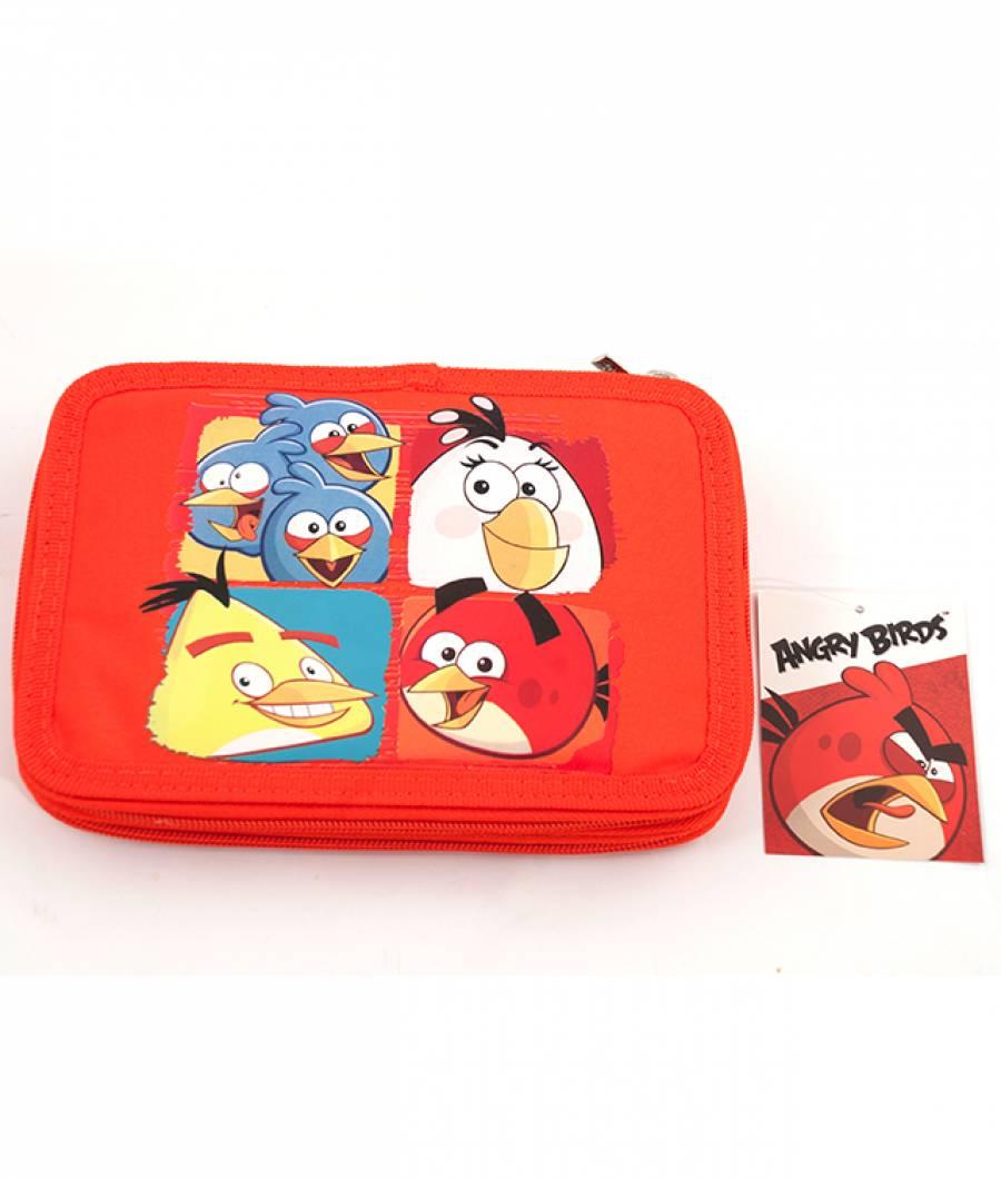 Penar Neechipat 2 ferm. Angry Birds Rosu cu Galben