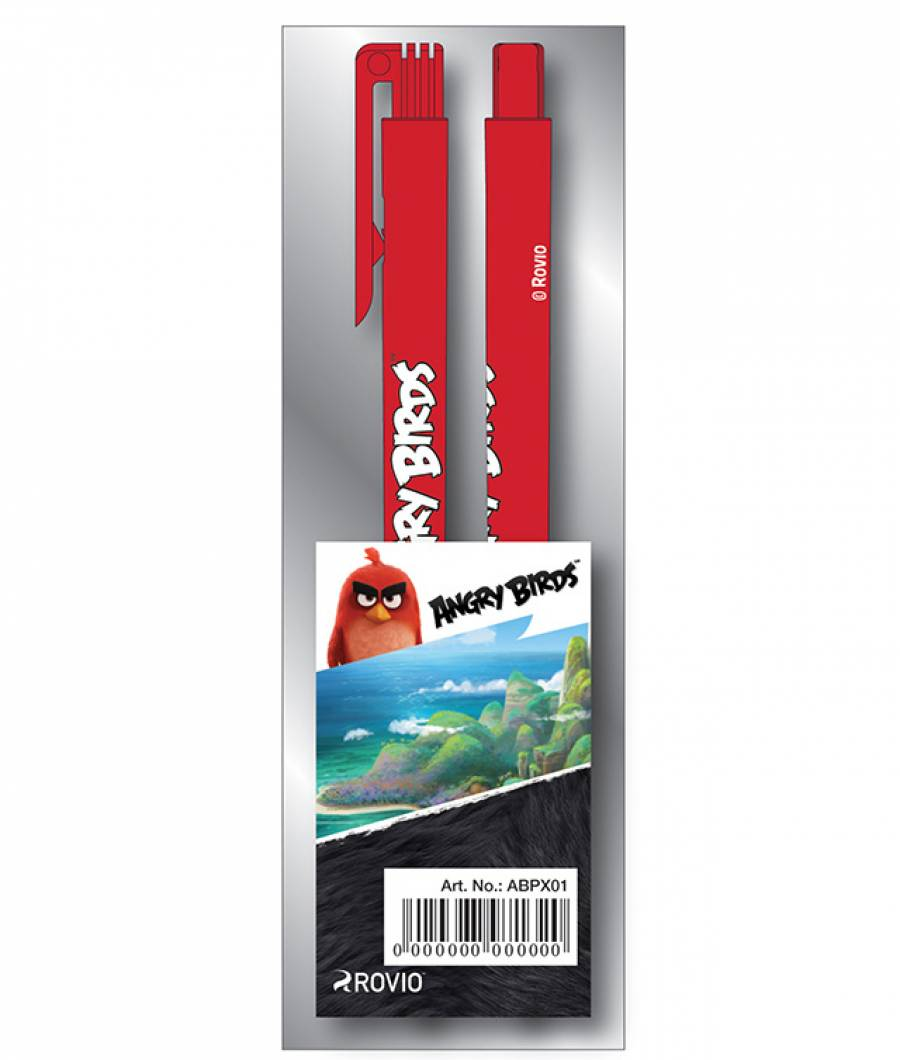Blister 2 Pix cu buton  Angry Birds