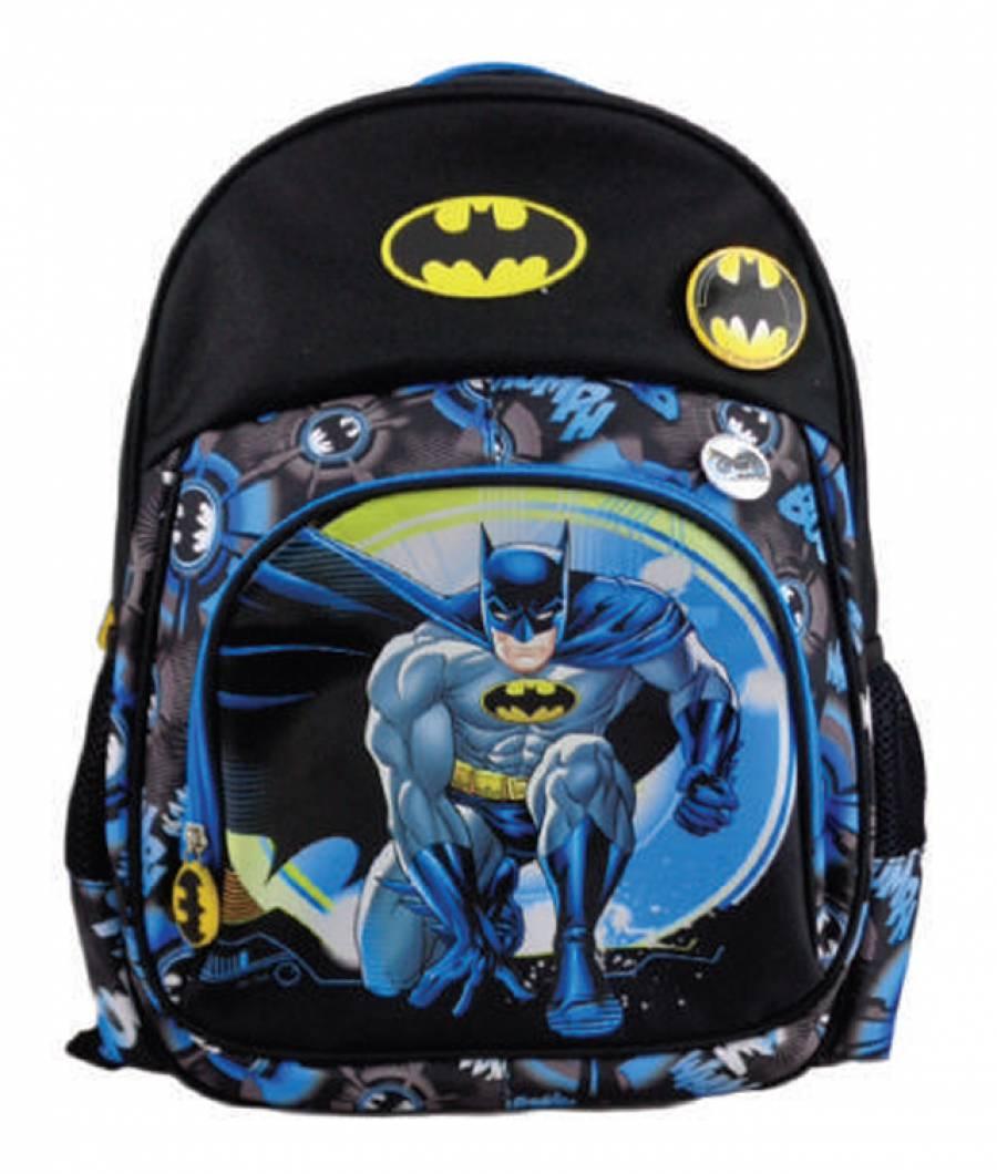 Ghiozdan, clasa 0, Batman Negru Albastru
