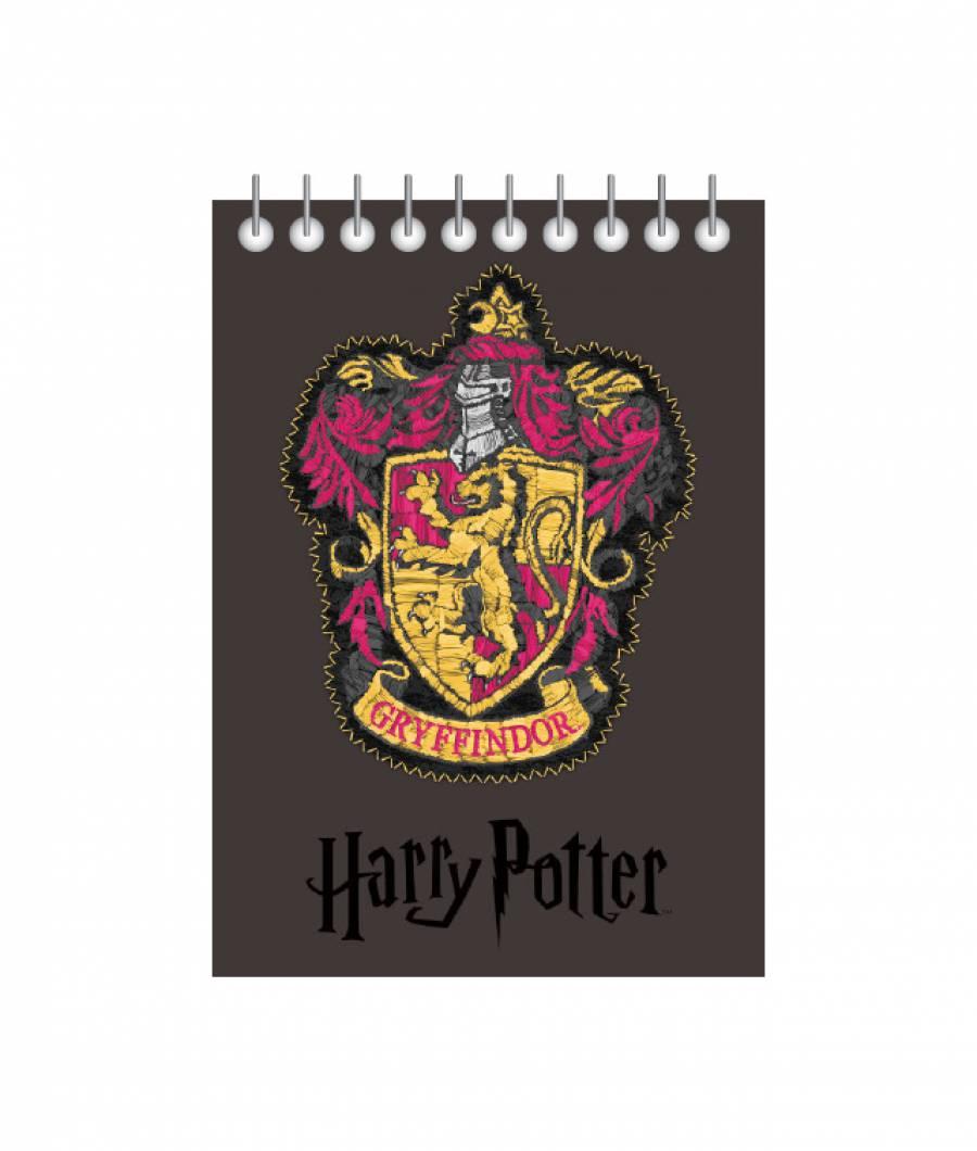 Blocnotes cu spira A6 70file, matematica, 80g/mp Harry Potter .