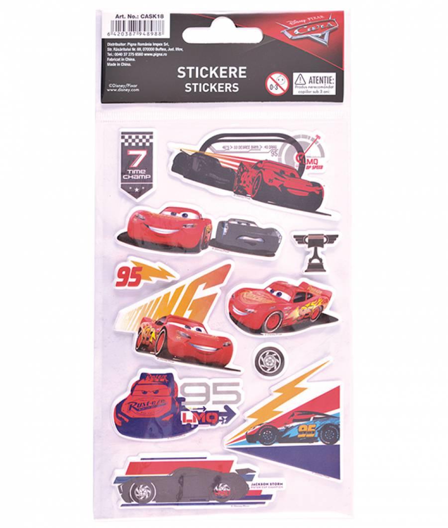 Stickere pop-up Cars .