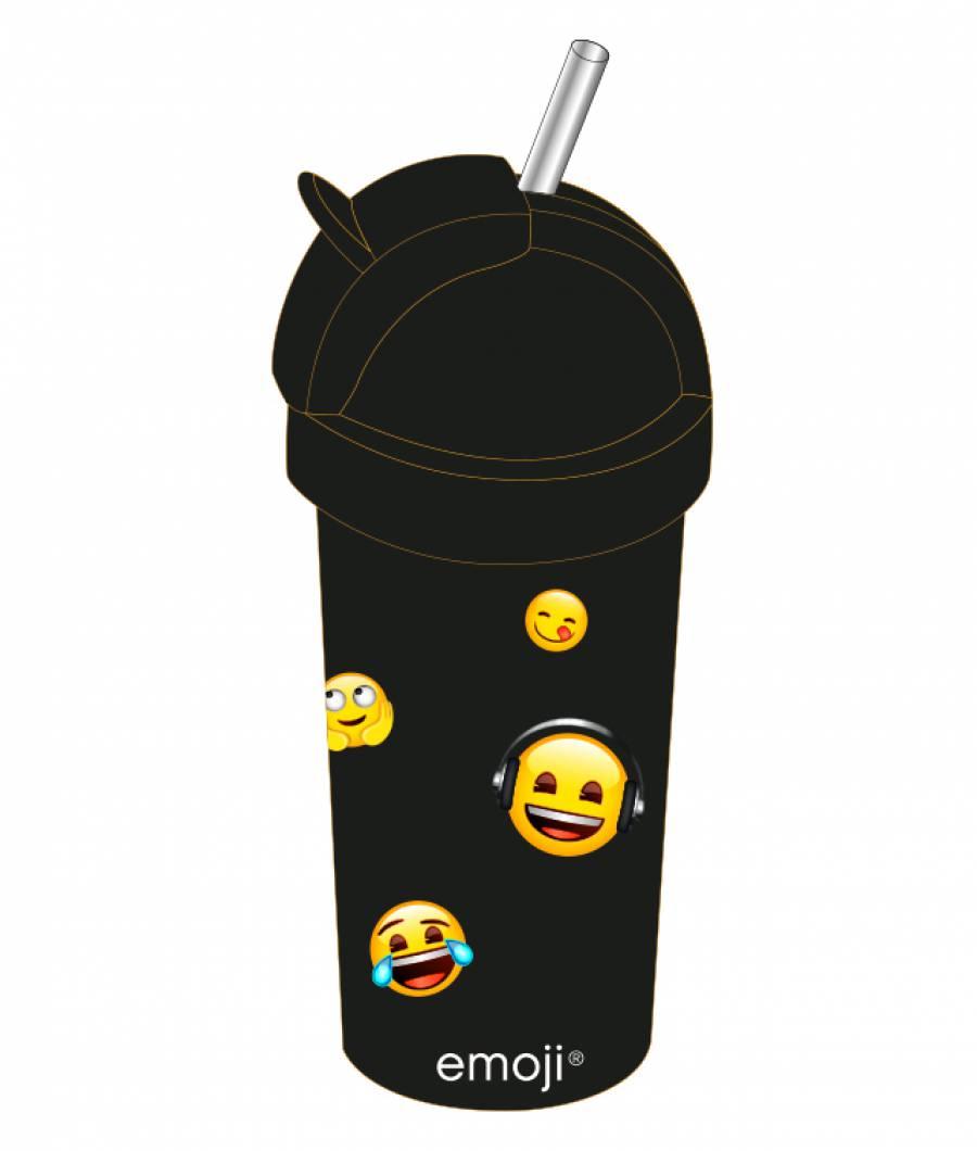Sticla Apa copiii 380ml Emoji .
