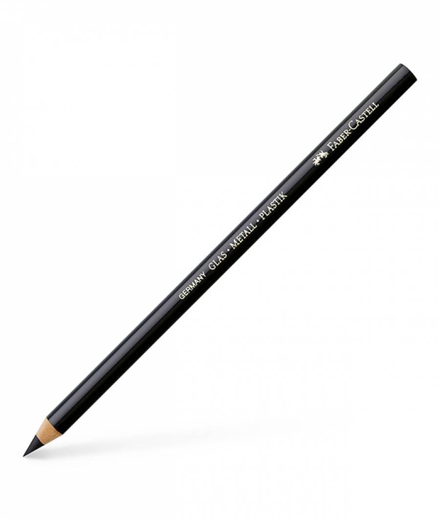 Creion Permanent Pentru Sticla Negru Faber-Castell