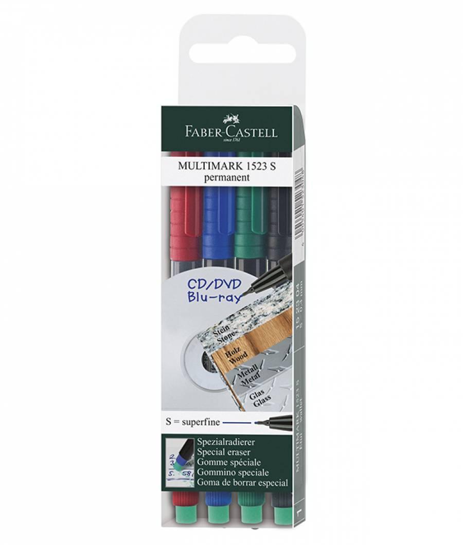 Marker Permanent S Multimark Faber-Castell