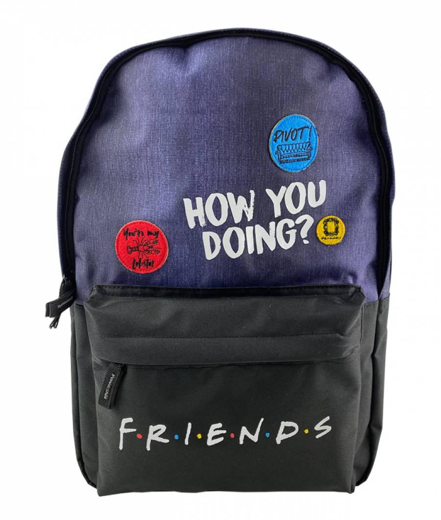 Ghiozdan Friends Teens denim