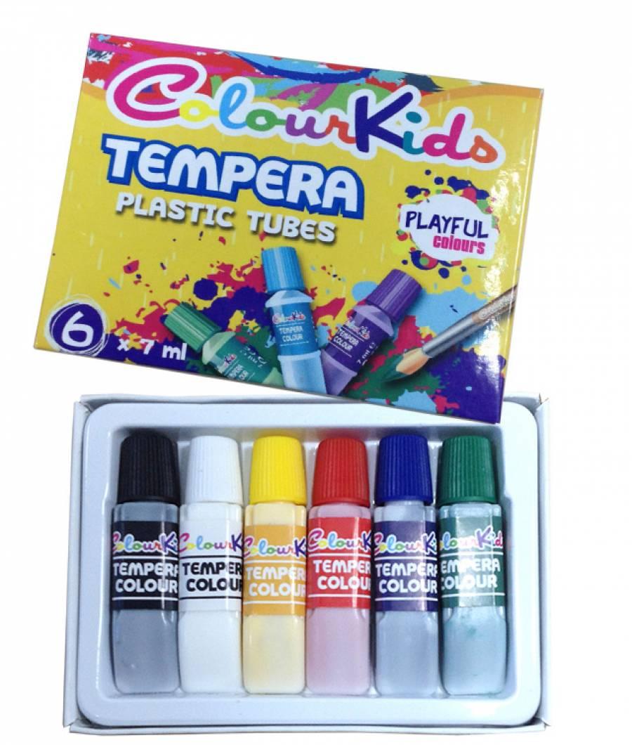 Set Tempera 06/set 07ml. ColourKids