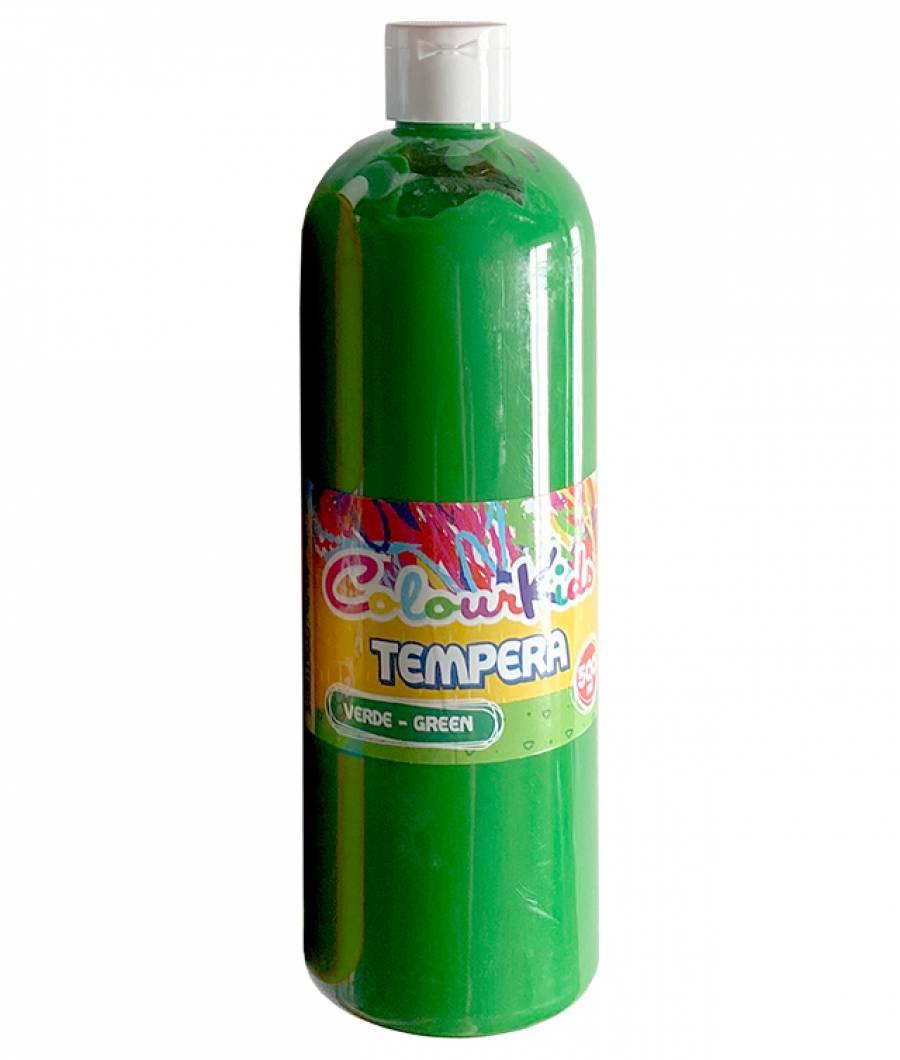 Tempera 500ml./sticla, verde Colour Kids