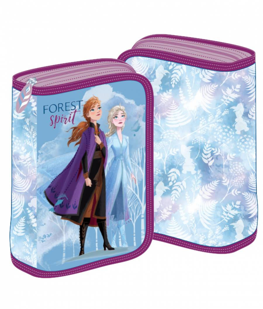 Penar 2 extensii albastru-violet Frozen 2