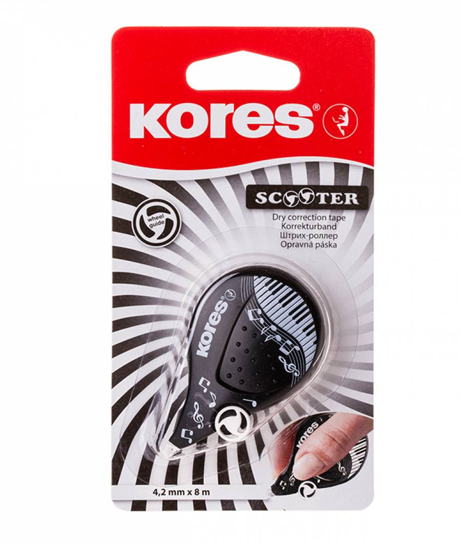 Banda Corectoare 4.2mm x 8m Black&White Kores