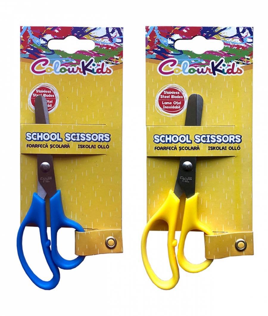 Foarfeca Colour KIDS 12.5cm blister