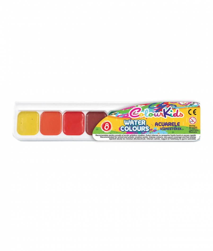 Acuarele. semi-uscate 8 culori Colour KIDS