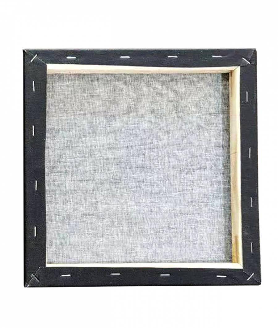 Panza SF ART pictura neagra sasiu lemn 16x25cm 30x30cm