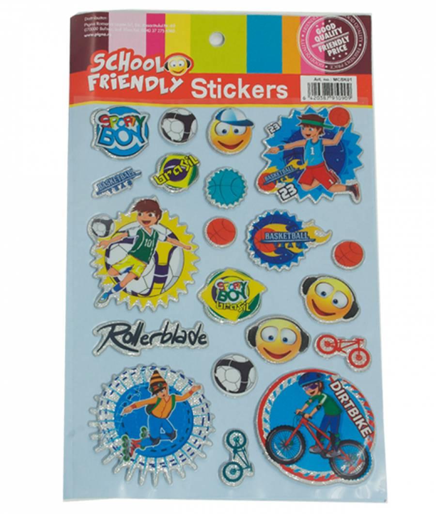 Sticker XOXO baieti Model 1