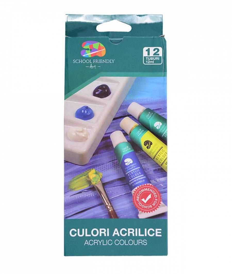 Acrilic 12 culori SFART
