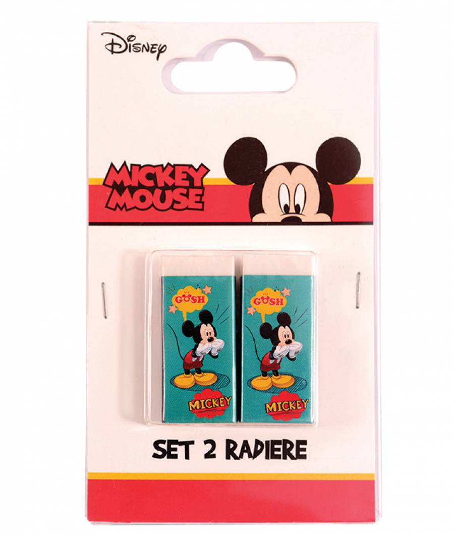 Blister 2 Radiere Mickey