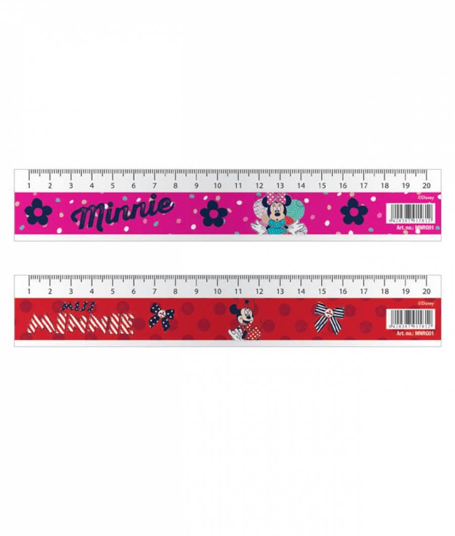 Rigla 20cm Minnie