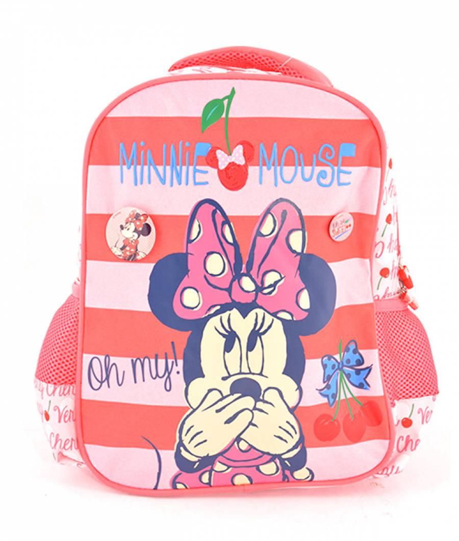 Ghiozdan Gradinita Minnie Roz-Cherry Minnie