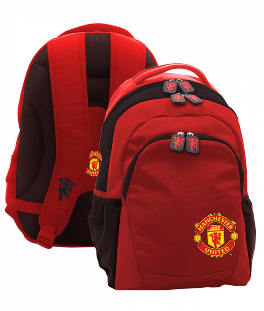 Ghiozdan Gimnaziu Manchester United Rosu