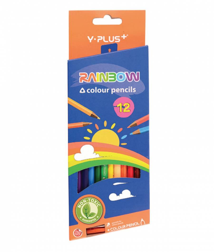 Creioane Color RAINBOW 12 buc