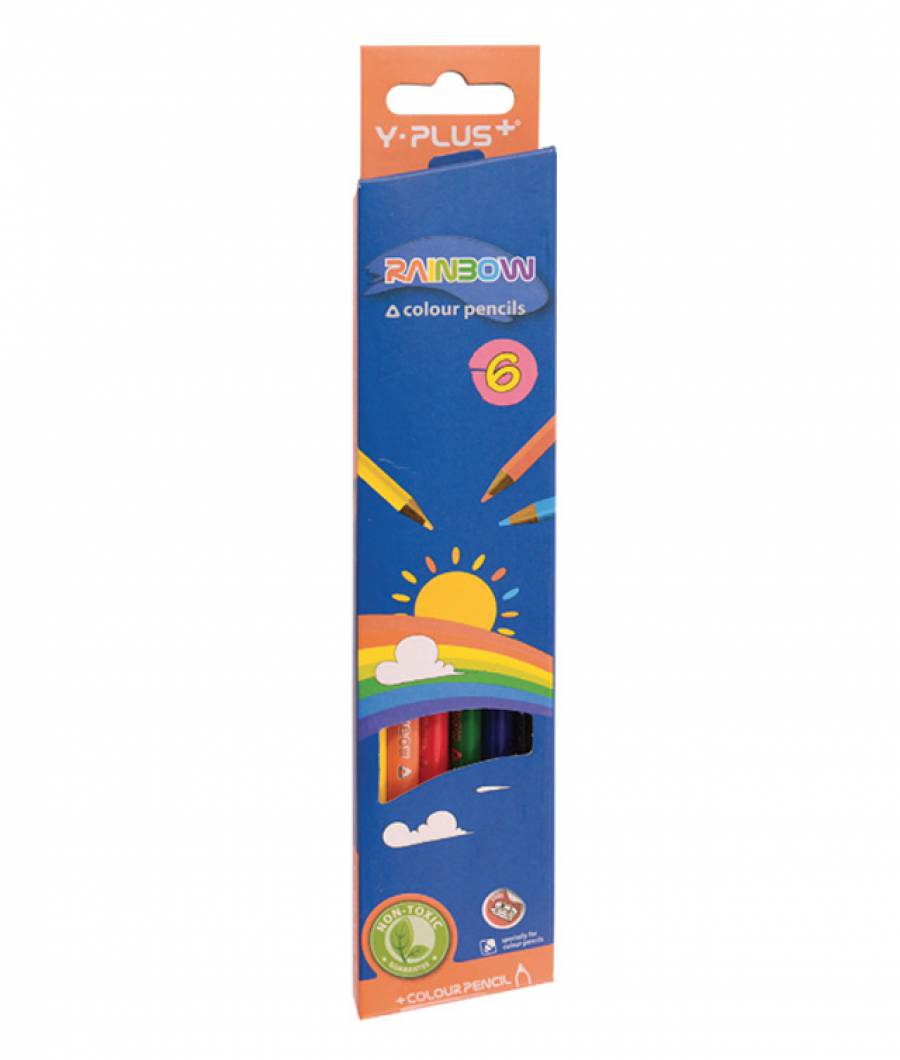 Creioane Color RAINBOW 6 buc
