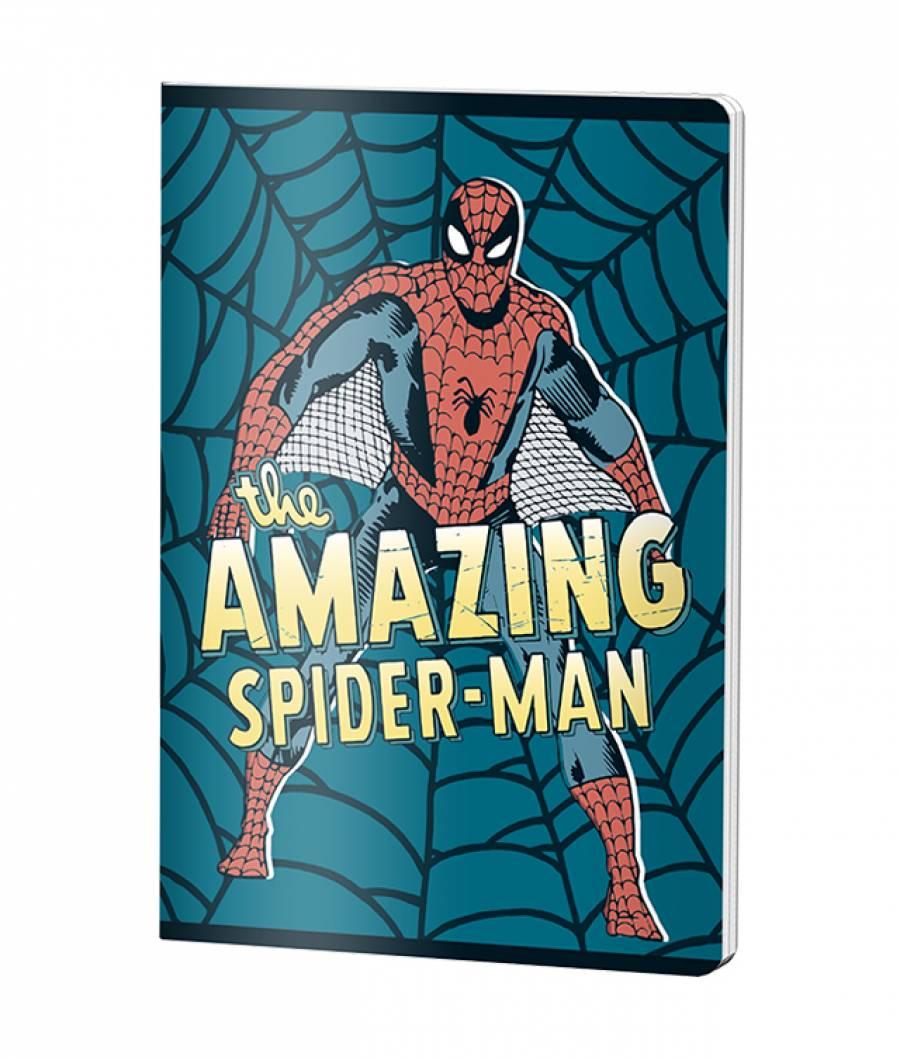 Caiet A5 48file, matematica, Spiderman .