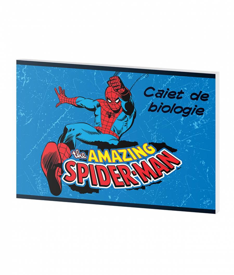Caiet Biologie 24file Spider-man .