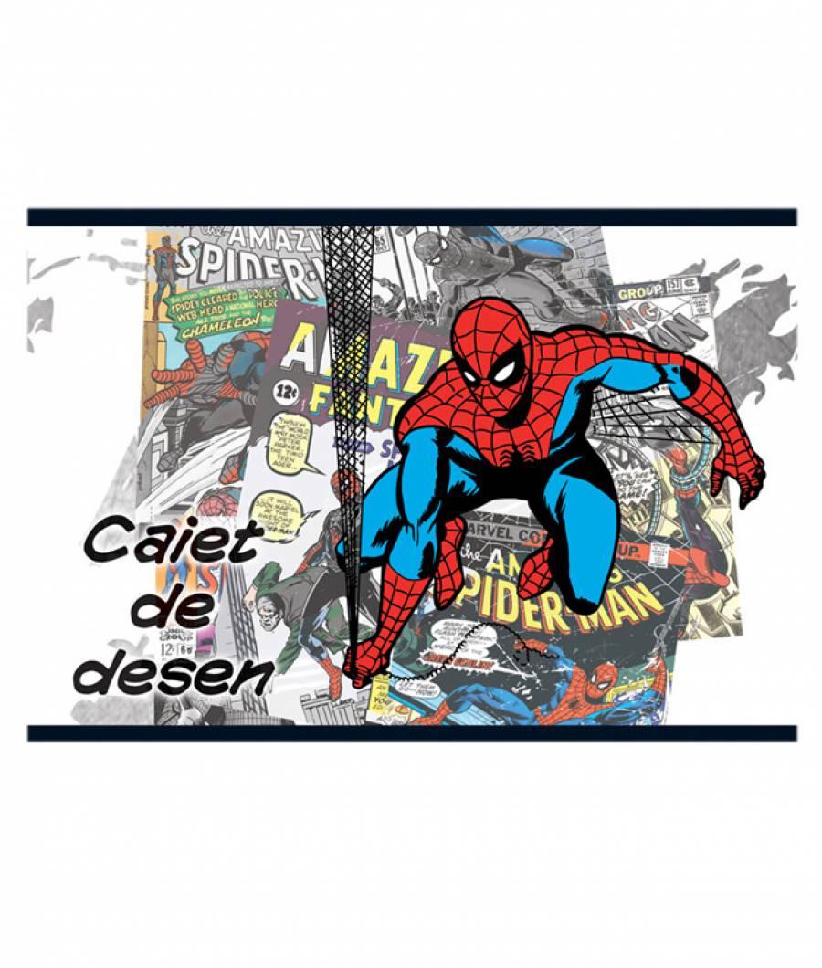 Caiet Desen 16file Spider-man .