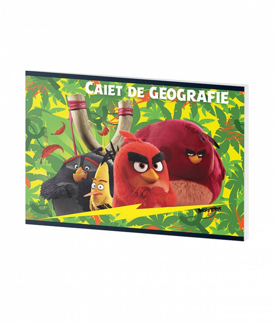 Caiet Geografie 24file Angry Birds