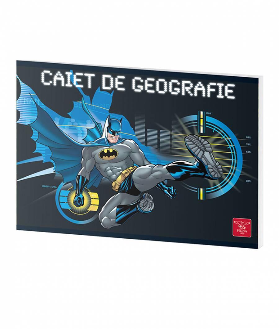 Caiet Geografie 24file Batman .