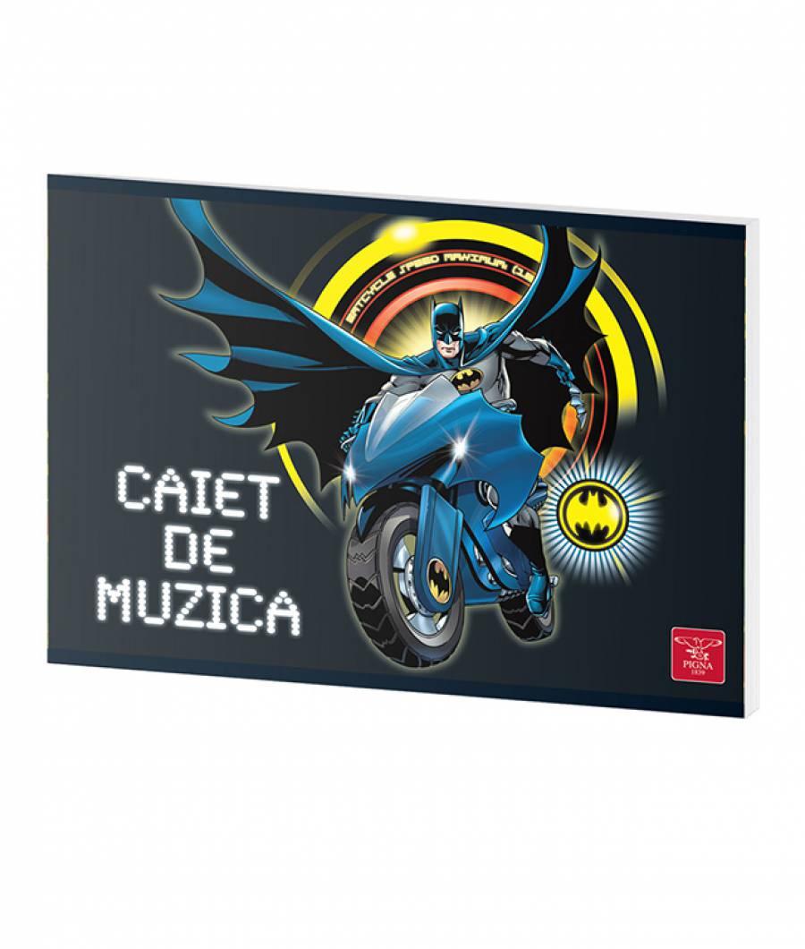 Caiet Muzica 24file Batman .