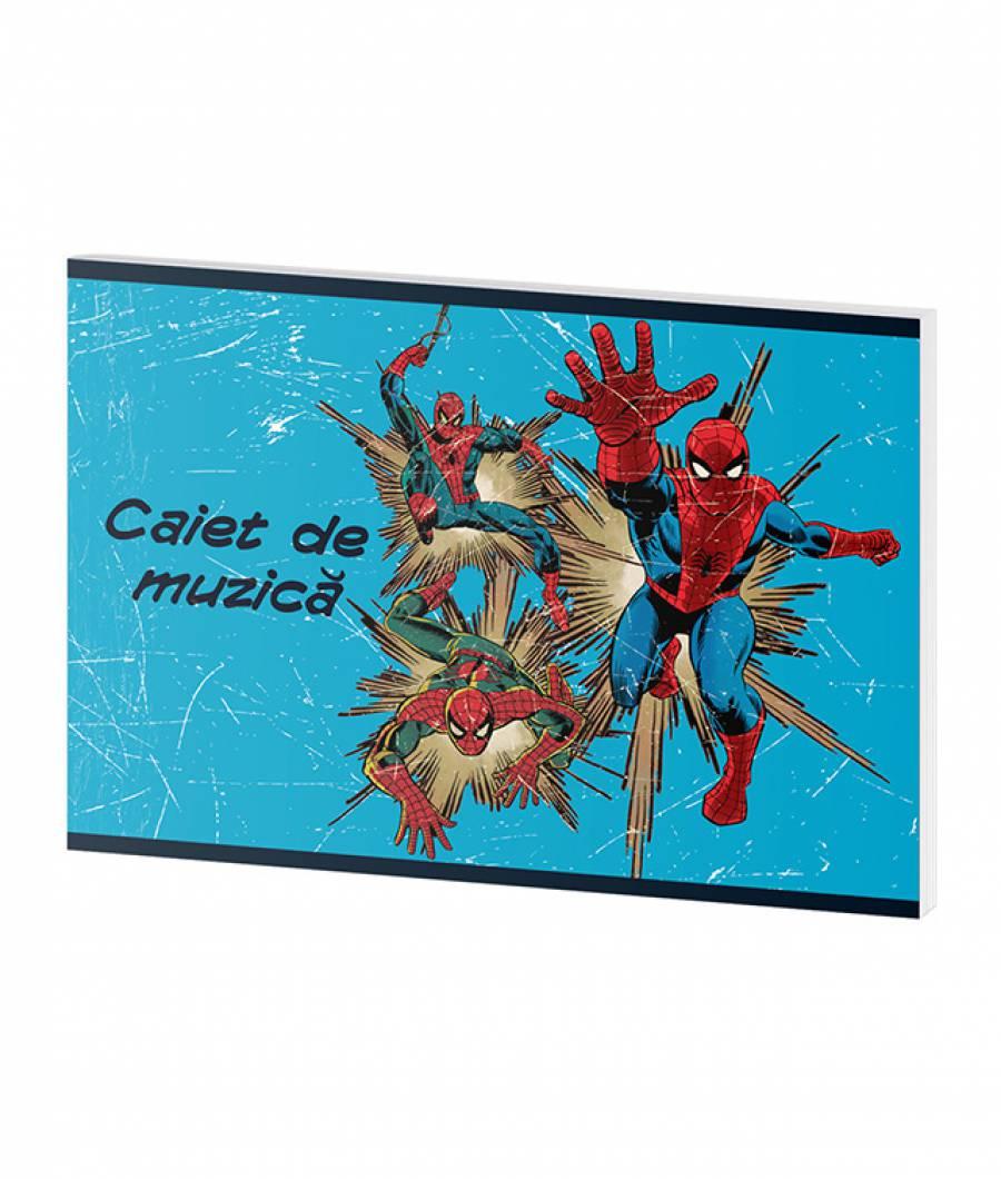 Caiet Muzica 24file Spider-man .