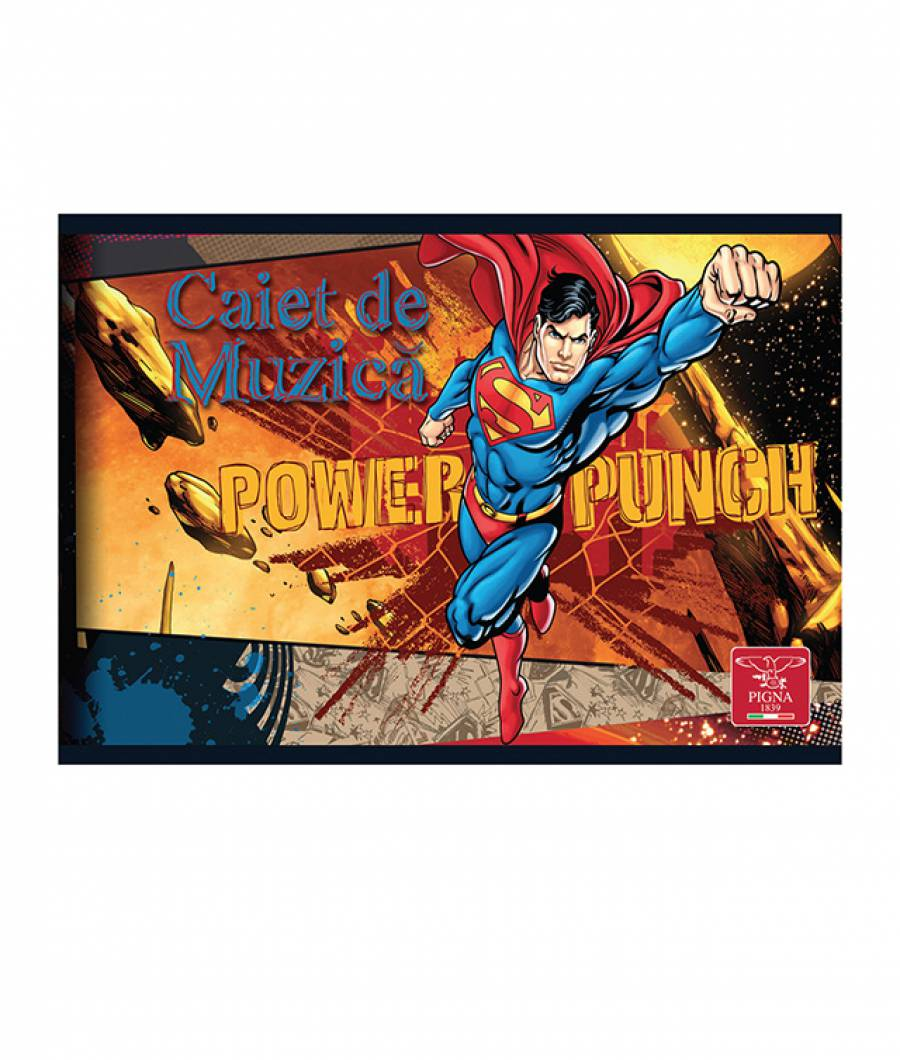 Caiet Muzica 24file Superman