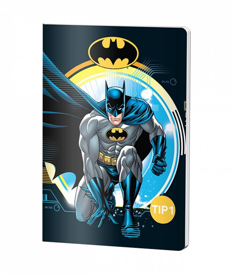 Caiet Tip 1 A5 24file Batman .