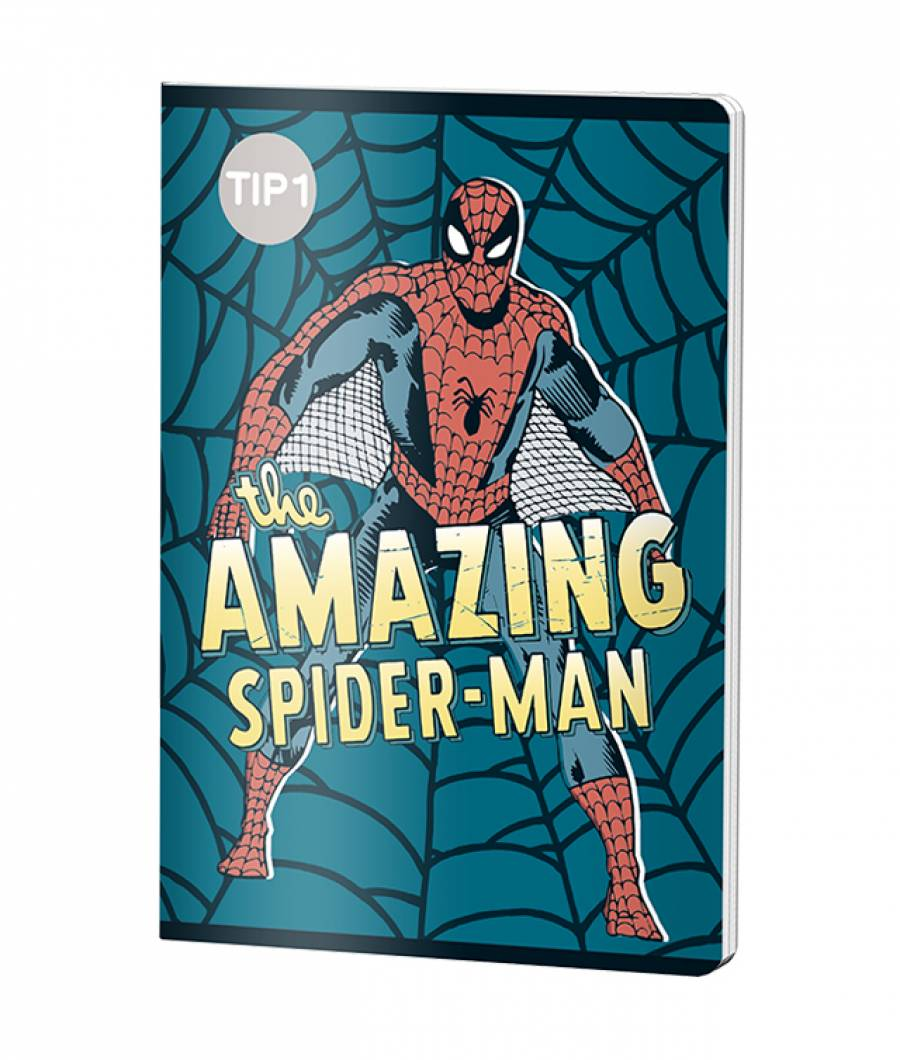 Caiet Tip 1 A5 24file Spiderman .