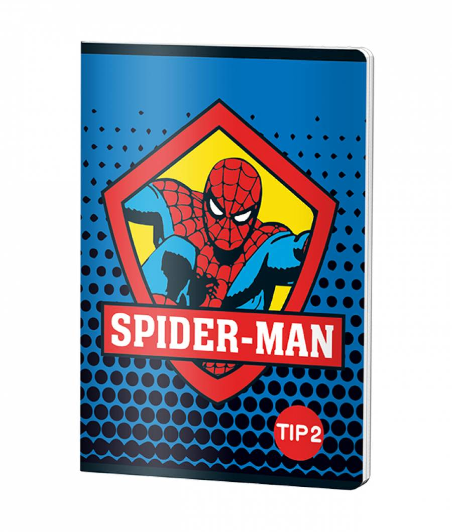 Caiet Tip 2 A5 24file Spiderman .