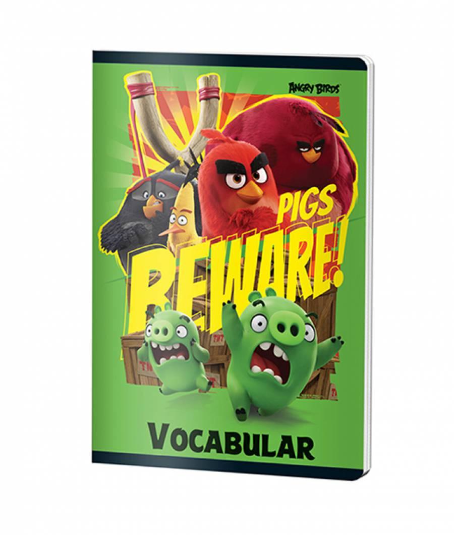 Caiet Vocabular 24file Angry Birds