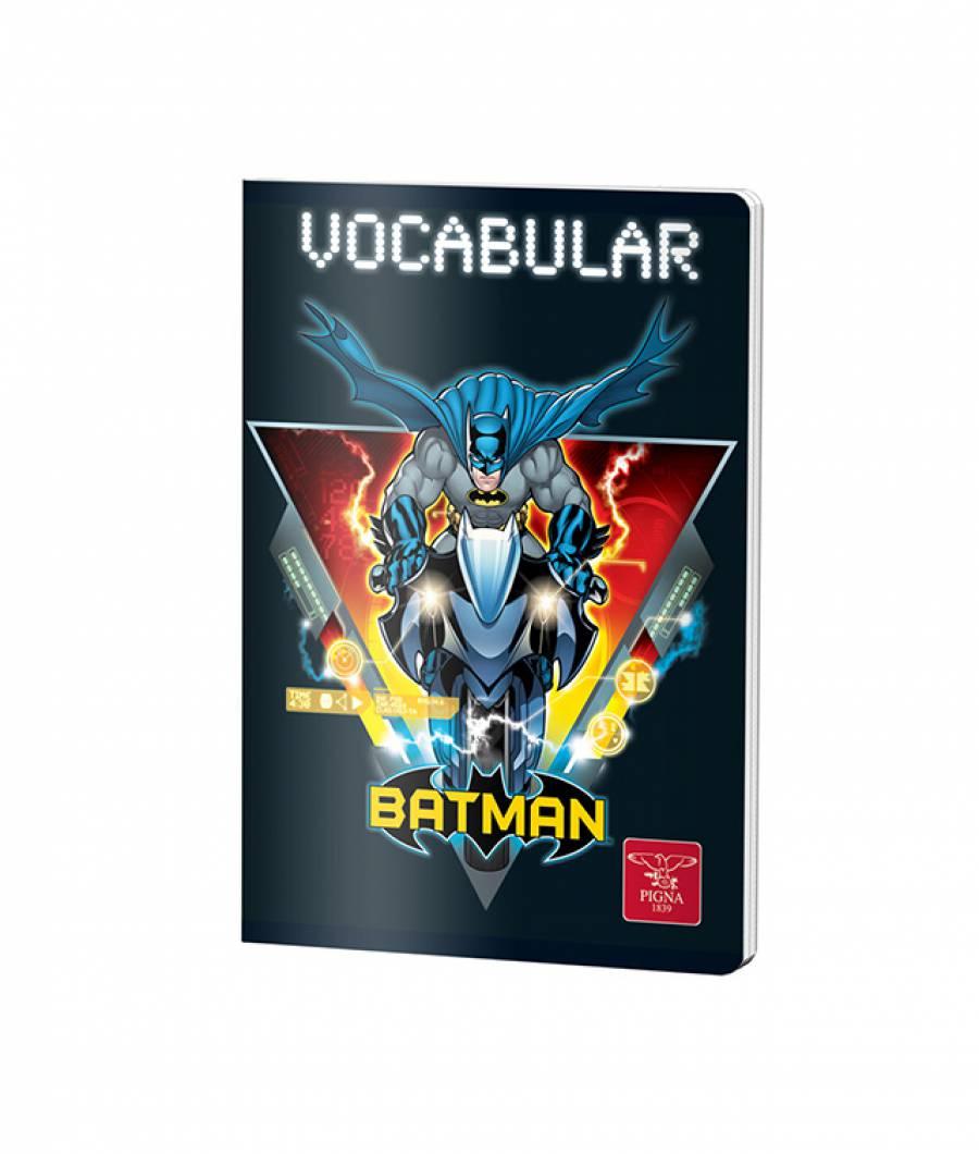 Caiet Vocabular 24file Batman .