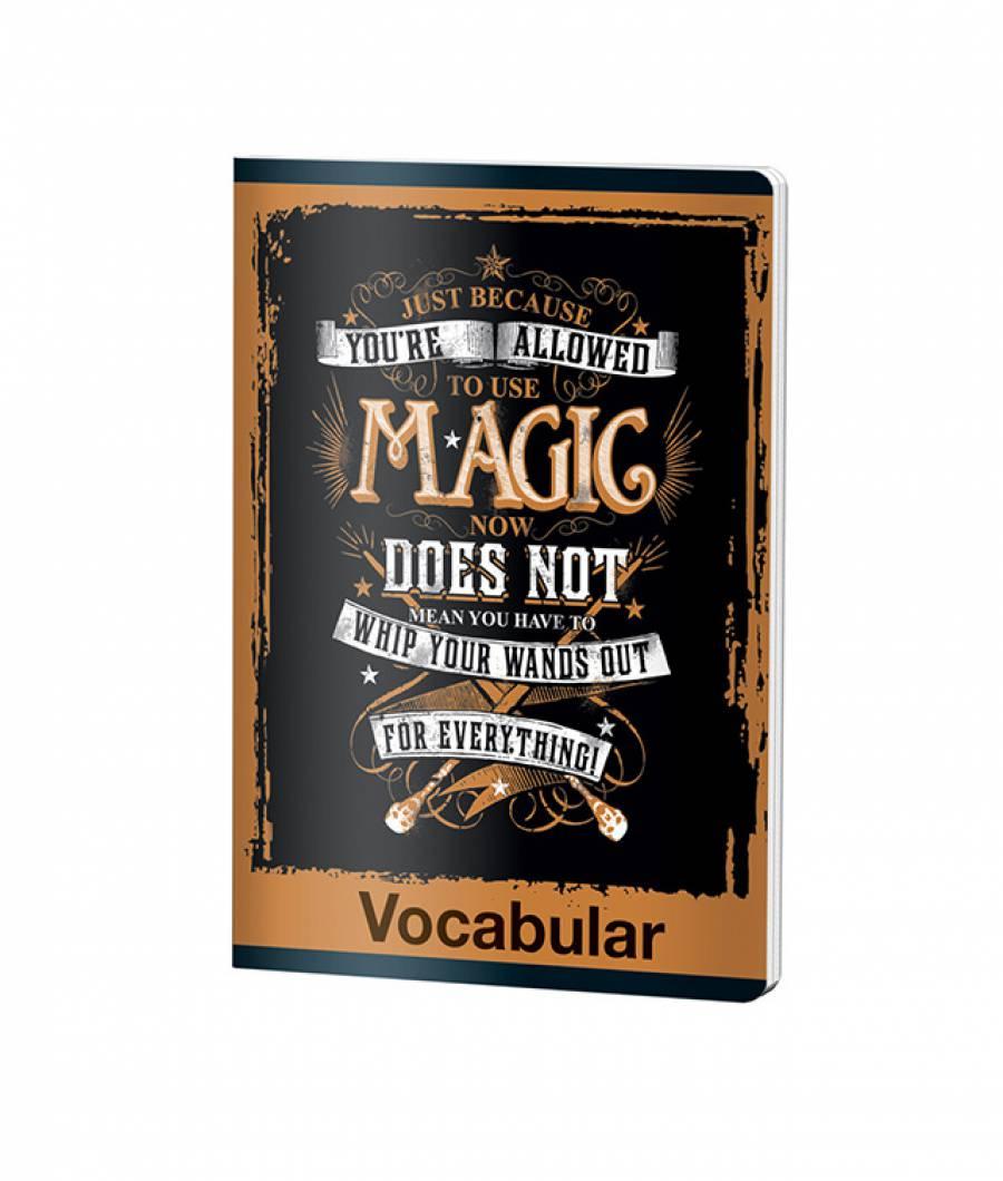 Caiet Vocabular 24file Harry Potter .