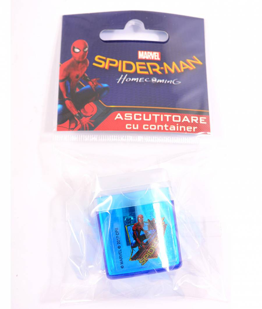 Ascutitoare cu container Spider-man