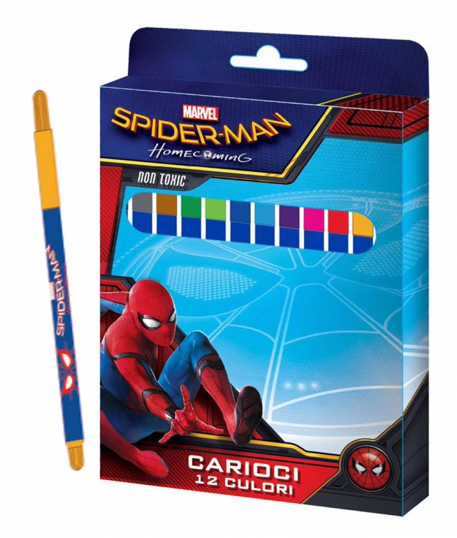Carioci 12/set, cutie,  Spiderman HC .