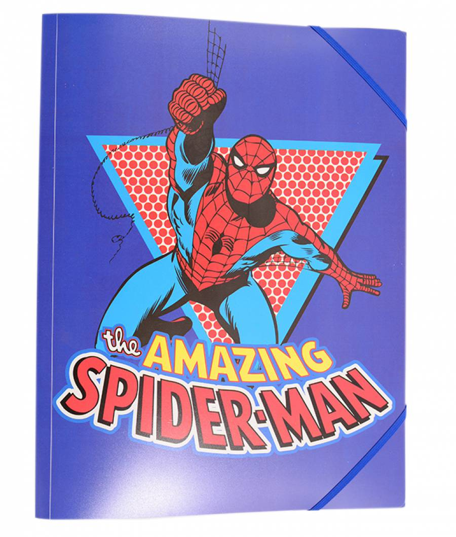 Mape plastic cu elastic Spiderman .