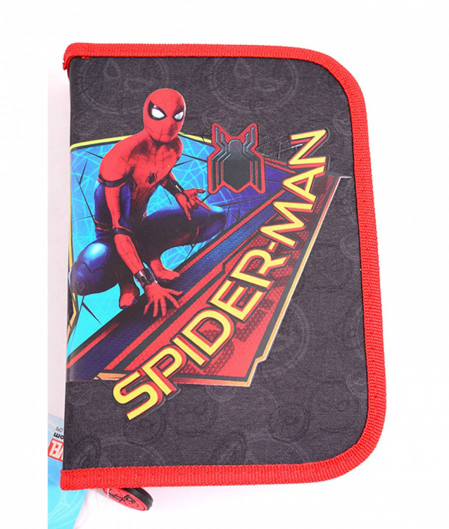 Penar Neechipat , 1 fermoar,2 extensii,Spiderman Albastru Inchis Spi