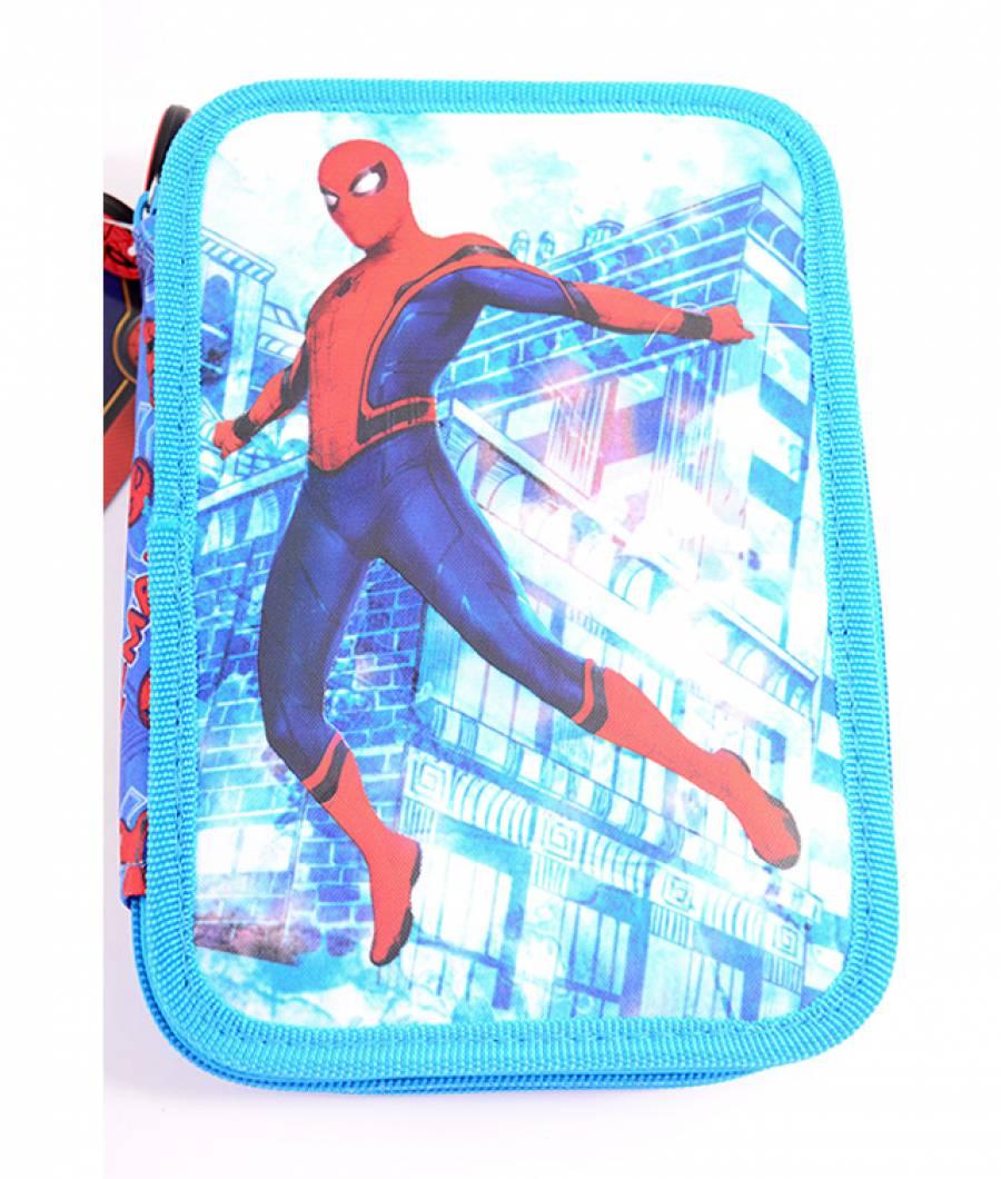 Penar Neechipat , 2 fermoare , Spiderman Albastru