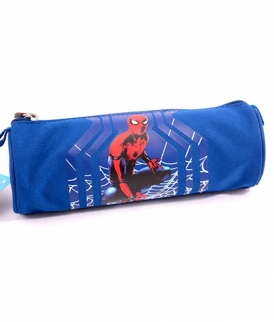 Penar Etui Tubular Spiderman Albastru Spider-man