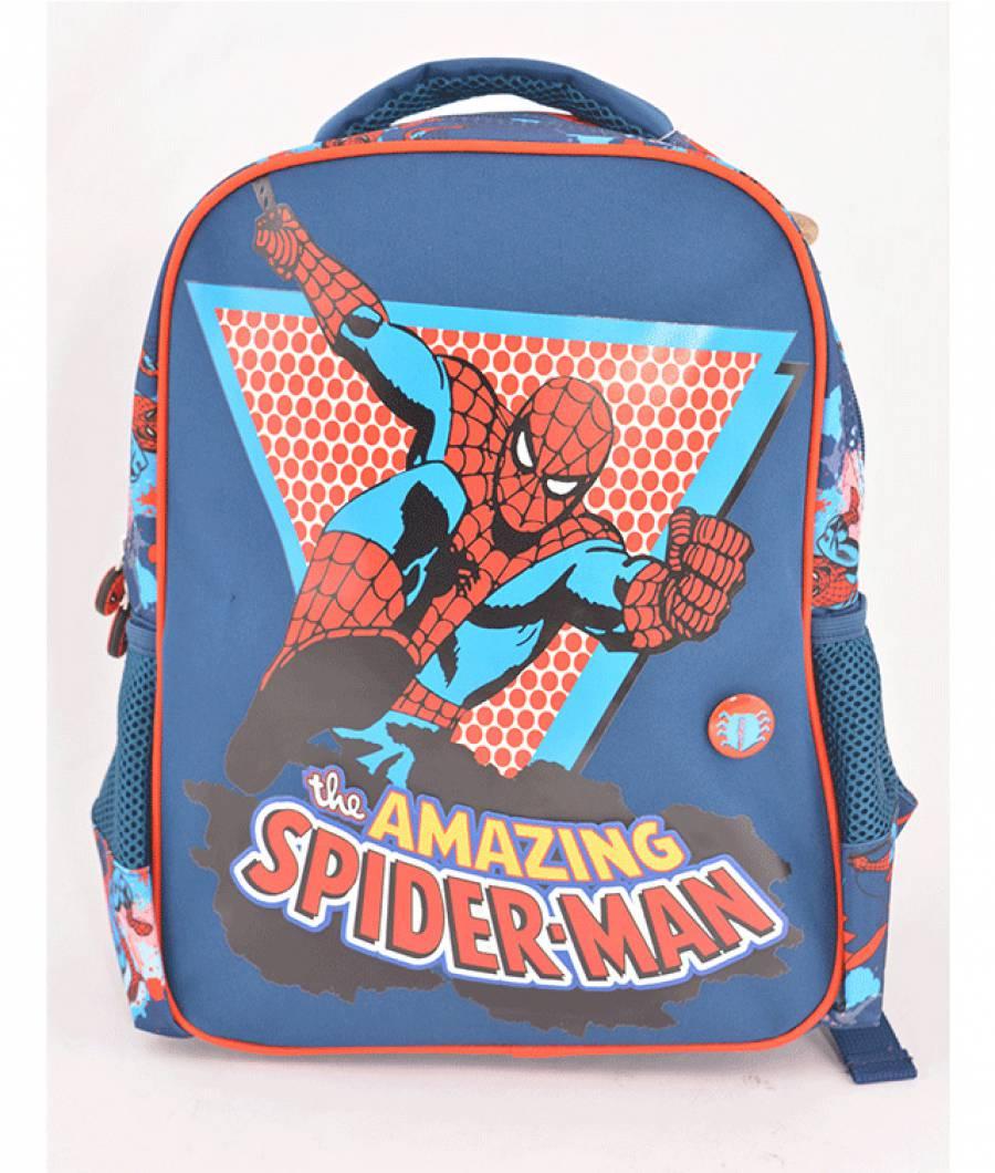 Ghiozdan Gradinita Spiderman Albastru Inchis T.A.Spider-man